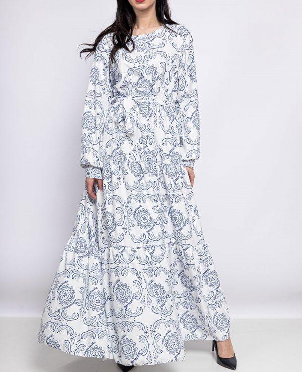 Maxi jurk met Print | Youssra Fashion