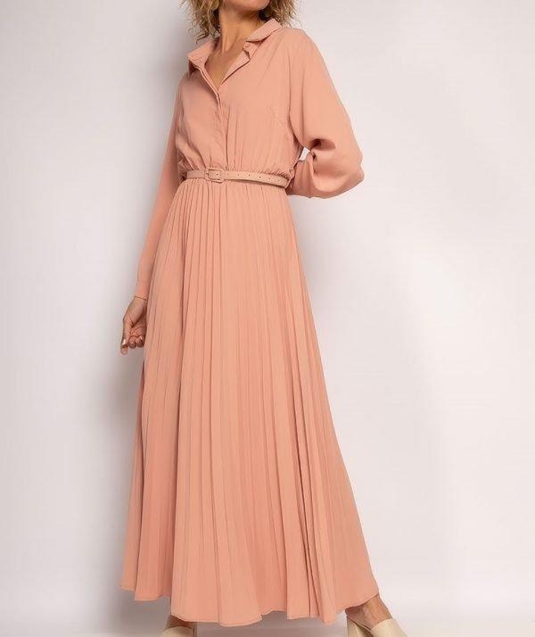 Maxi jurk met riem   Youssra Fashion